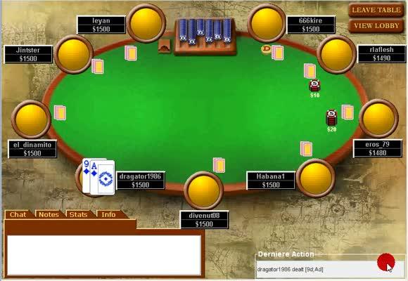 Replay SNG turbo 18 joueurs à 27 $