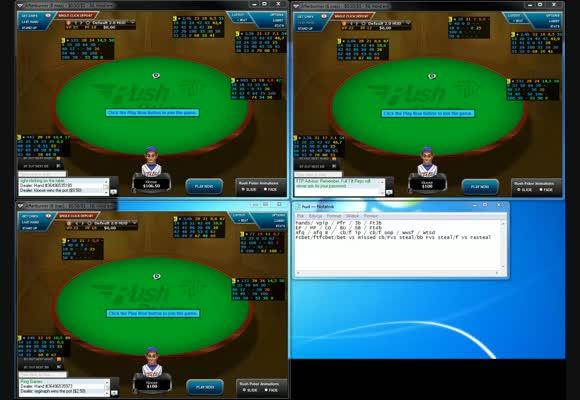 Pożegnanie NL100 Rush Poker