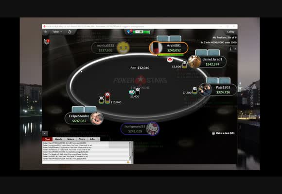 Late Game MTT Show Live - Final Table (2)