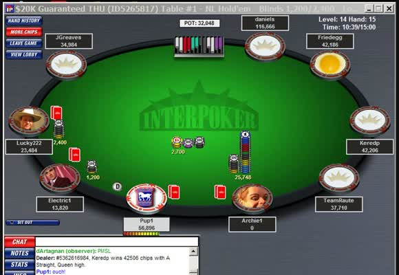 MTT 20k Gtd. - Final Table