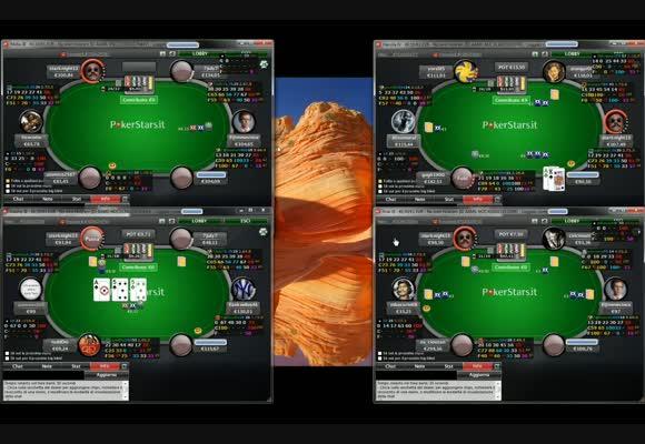 Sessione live - il NL100 di PokerStars.it