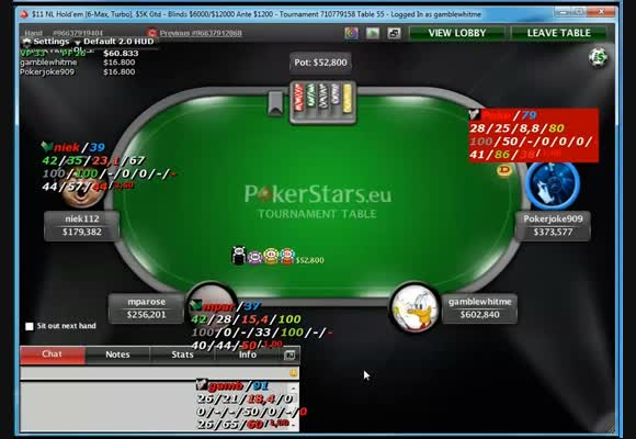 Shorthanded Final table : deel 2