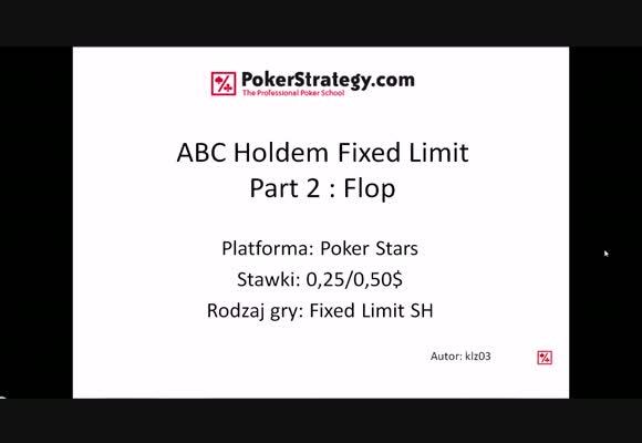 FL 0.25$/0.50 SH - flop