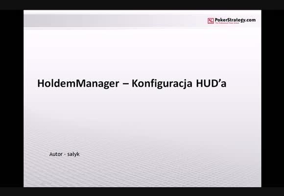 Hold'em Manager - konfiguracja HUD'a