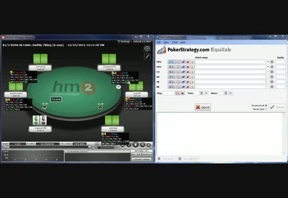 Bluffcatching - 3-bet pots OOP