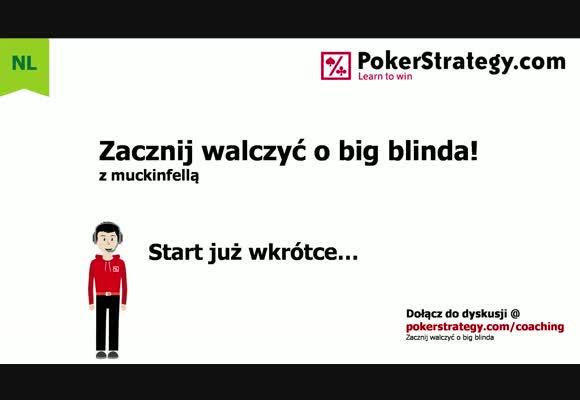 Zacznij walczyć o big blinda - calling i 3-betting range z sb