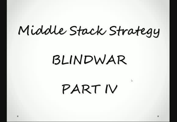 Blindwar z perspektywy MSS - gra live
