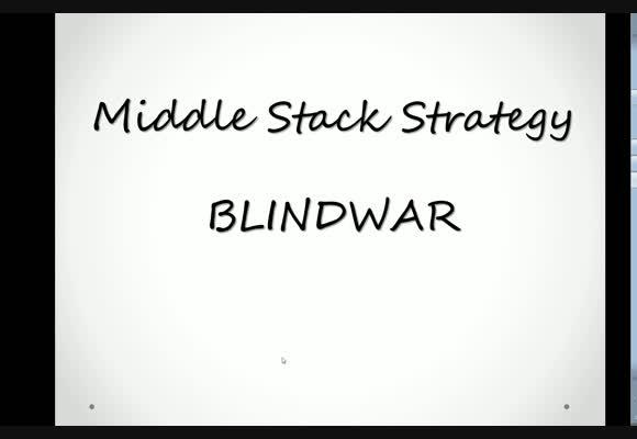Blindwar z perspektywy MSS - wybrane rozdania