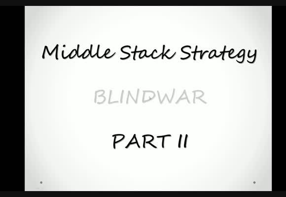 Blindwar z perspektywy MSS - obrona big blinda