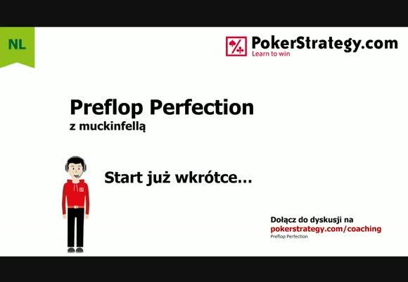 Preflop Perfection - gra przeciwko oraz z BU