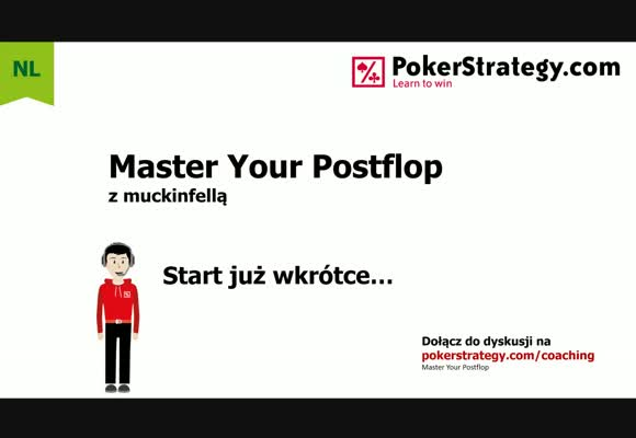 Master Your Postflop - budowanie range second barrelu