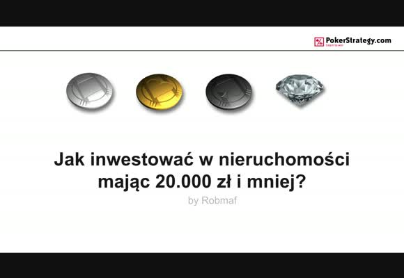 Jak inwestować w nieruchomości mając 20 000 zł?