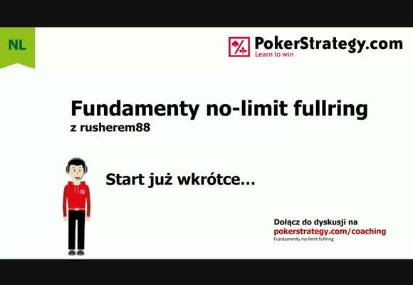 Fundamenty No-Limit Fullring - gra z cut-offa oraz small blinda