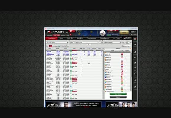 High Stakes PLO na PokerStars