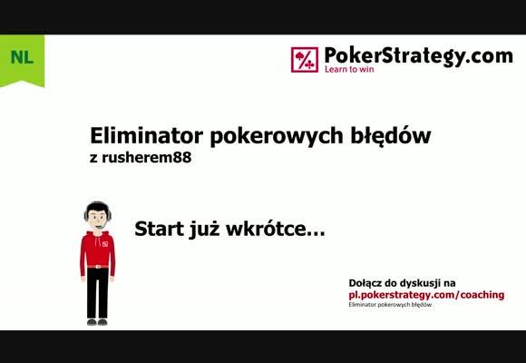 Eliminator pokerowych błędów - Brak pot control oraz blefowanie (3)