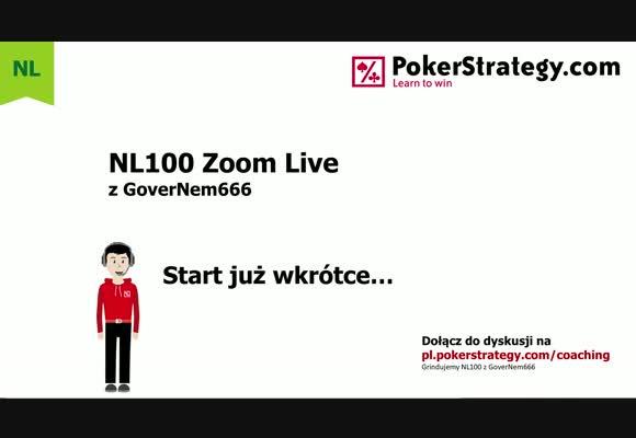NL100 Live - doskonalenie gry z blindów