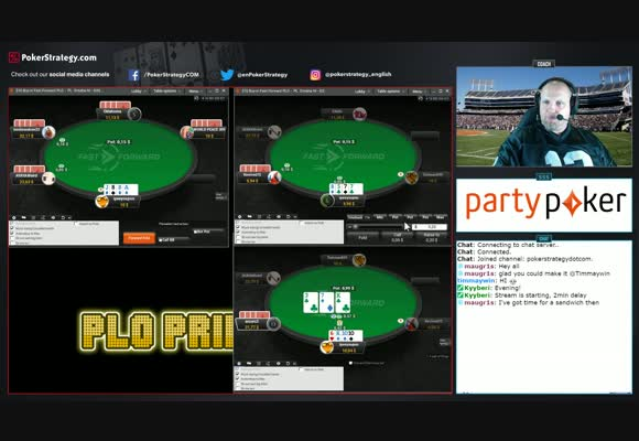 Microstakes PLO Live Grind