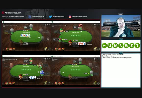 Microstakes Pot Limit Omaha at Unibet Poker