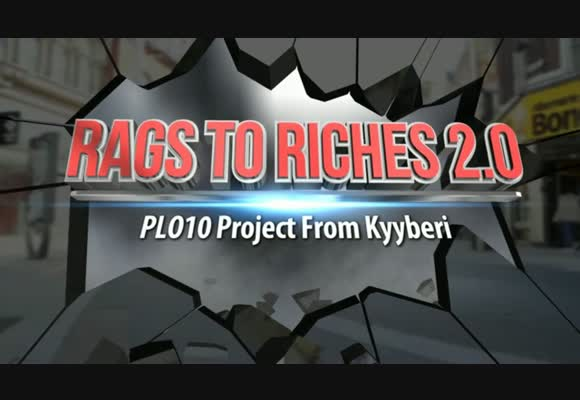 From Rags to Riches PLO Challenge 2.0 - The Continuation