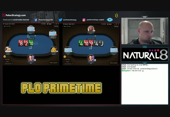Live PLO Session on 888poker & Natural8