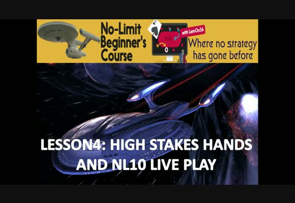Beyond The First Strategy - High Stakes Hand Review & Live Play (3)