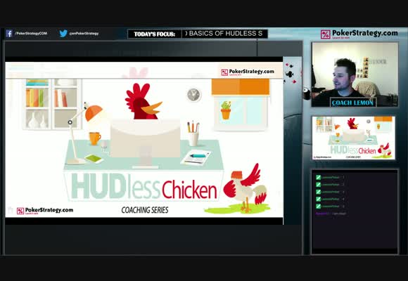 HUDless Chicken - Developing A Blind Strategy (1)