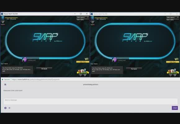 NL30 Snap Poker Live with w34z3l