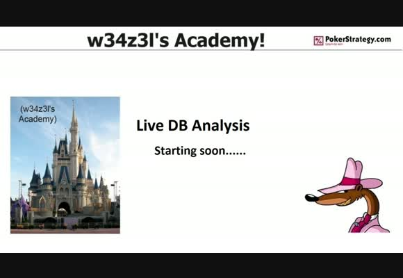 Live Database Analysis with w34z3l
