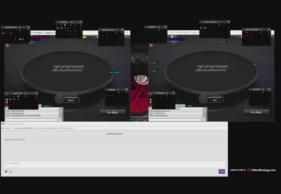 Zoom Live Session with w34z3l