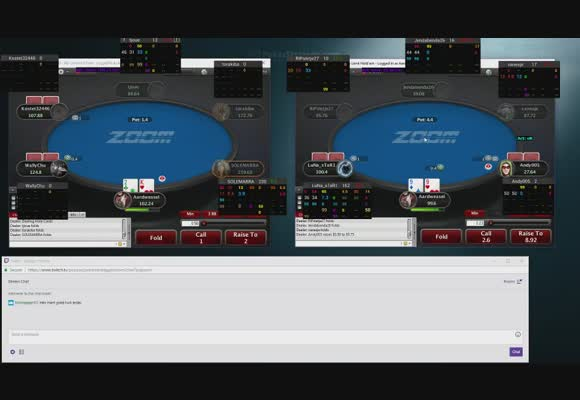 Lowstakes Zoom Poker Live Session
