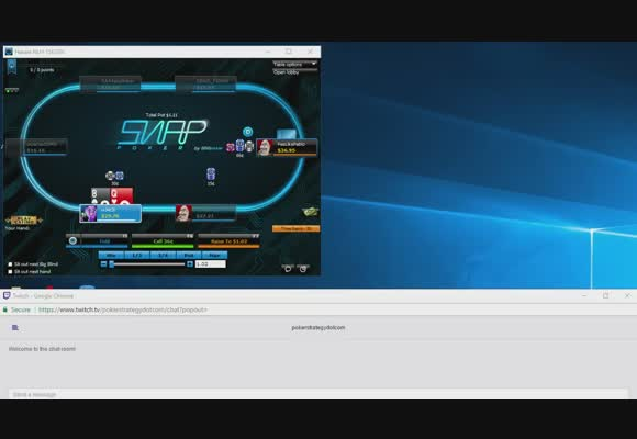 NL30 Snap on 888poker with w34z3l