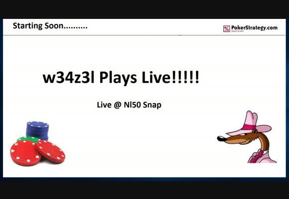 NL50 Snap Poker Live