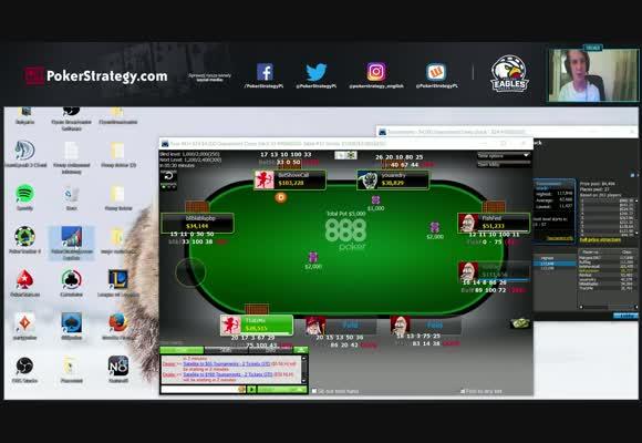 Finałowy stół w turnieju 4000 $ Guaranteed na 888poker