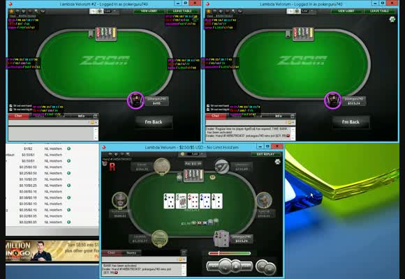 Don't lose a pot on NL500!