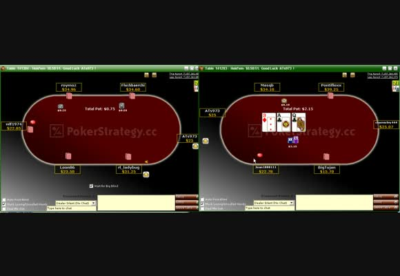 $0.5/$1 Shorthanded - Open Raise