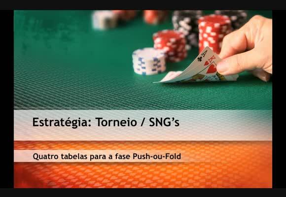 Quatro Tabelas Standard para a Fase Push-ou-Fold