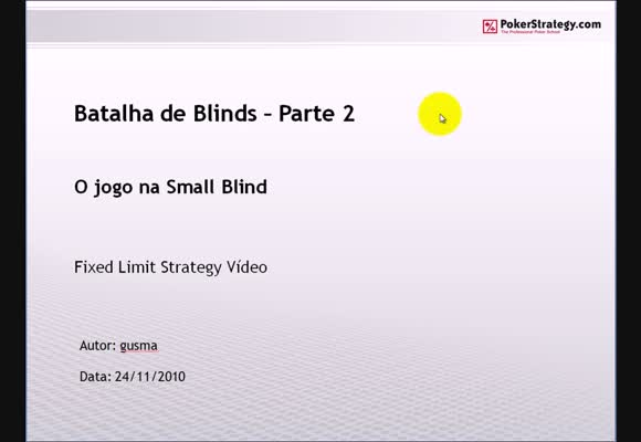 FL $1/$2 SH - Batalha de Blinds - Parte 2