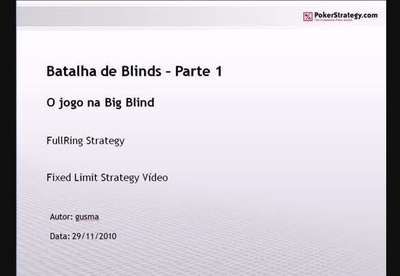 FL $1/$2 FR - Batalha de Blinds - Parte 1
