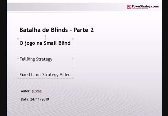 FL $1/$2 FR - Batalha de Blinds - Parte 2