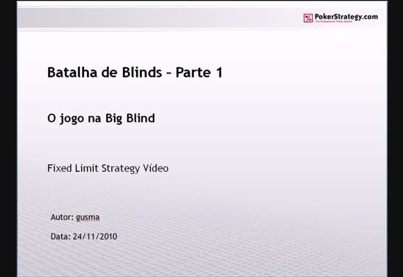 FL $1/$2 SH - Batalha de Blinds - Parte 1