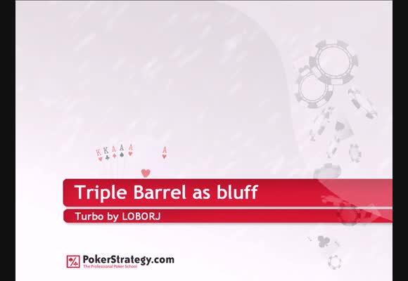 SNG - Triple Barrel Bluff