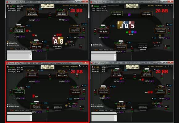 NL SSS $1000/2000 CAP SH