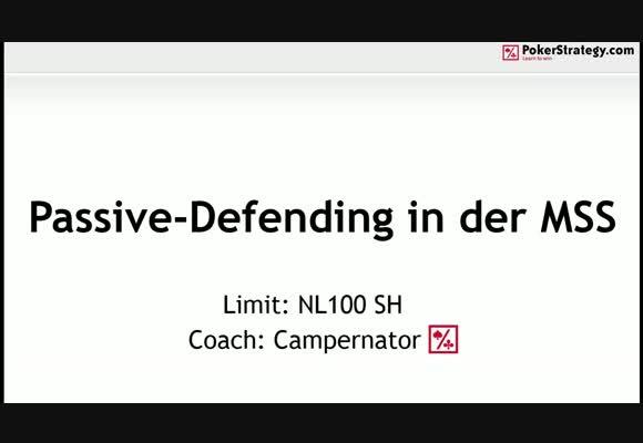Пассивная защита блайндов в NL MSS