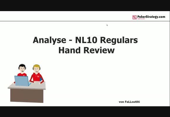 Анализ регуляров NL $10 - Разбор рук, часть 3