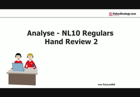 Анализ регуляров NL $10 - Разбор рук, часть 4