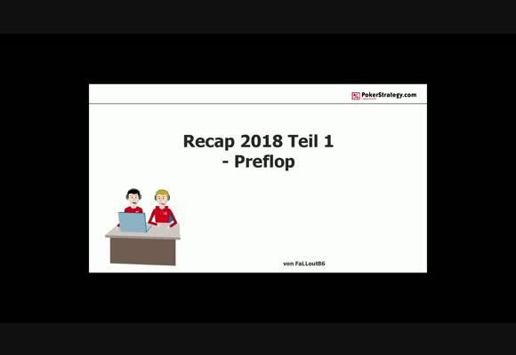 Обзор тенденций 2018 года - Префлоп, часть 1