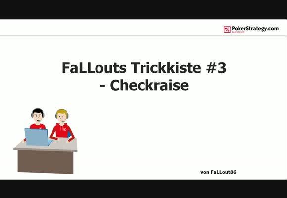 Хитрые штучки от FaLLout86 - Чек/рейзы, часть 3