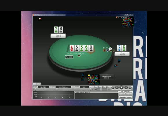 Hero Saw Flop - Разбор рук с NL $200, часть 2