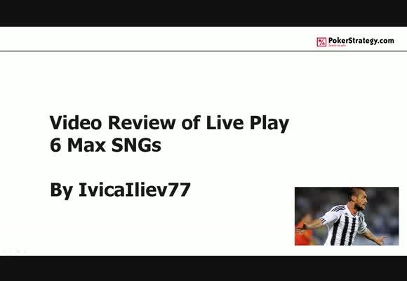 Встречаем IvicaIliev77 с анализом игры на микролимитах SNG SH