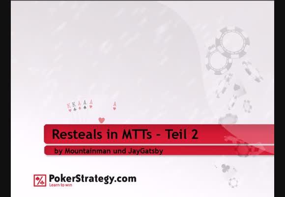 Перевод MTT $50-160 FR, Рестилы в турнирах - Практика, часть 2